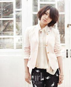 Park Shin Hye for Vogue Girl