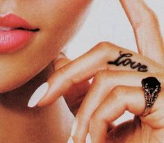 Charming Love Quote Tattoos for Women