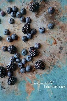 Blackberries & blueberries.
