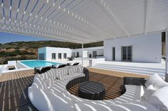 The plot is located at the island of Paros in the Cyclades. It has orientation in the big side South-western with view to the sea. The project concerns a summer house with hostels and a pool. The place of the residence is to benefit of the view to...