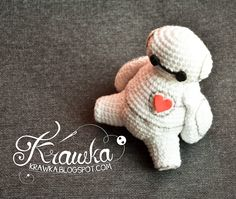 Krawka: Big Hero 6 - Baymax free crochet  pattern