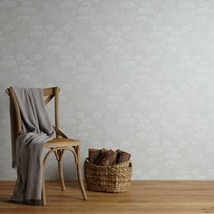 BuyJohn Lewis Cow Parsley Wallpaper, Grey Online at johnlewis.com
