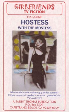 Amazon.com: HOSTESS WITH THE MOSTESS (GIRLFRIENDS TV FICTION Book 10) eBook: Sandy Thomas: Kindle Store
