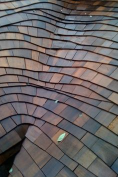 Newly installed wood-shingle thatch roof with a beautifully crafted valley… Roof Restoration, Cedar Roof, Cedar Shakes, Cedar Shingles, Roofing Companies, Thatched Roof, Roof Tiles, Roofing Materials, Roofing Contractors