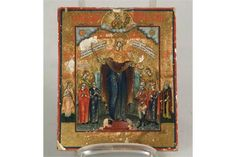 Bid Live on Lot 559 in the Sale: Art, Antiques, Jewellery Auction from Auktionshaus Blank. Leiden, Tempera, Religious Art, Christian, Icons, Traditional, Antiques, Painting, Russia