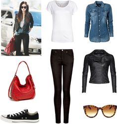 Outfit inspired by SNSD Yuri's Airport Fashion