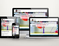 "Check out new work on my @Behance portfolio: ""Responsive website // 103Digital Studio"" http://on.be.net/1dxbqa2"