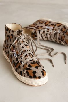 Superga Ponyhair High-Top Sneakers - anthropologie.com #anthrofave