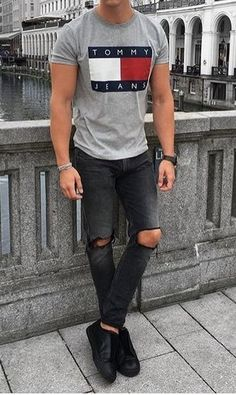 Mens Casual Dress Outfits, Stylish Mens Outfits, Denim Outfit, Casual Wear, Kids Outfits, Men Casual, Mens Boots Fashion, Suit Fashion, Fashion Outfits