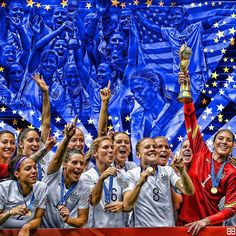 WORLD CUP CHAMPS!! 👏🇺🇸⚽️🏆 Congrats to the #USWNT on becoming the first team to win 3 women's World Cups. #worldcup #champs #ussoccer #wnt #worldcupchamps #2015worldcup