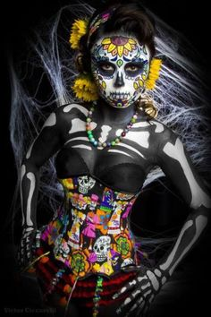 Day of the Dead-awesome costume!