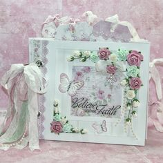 "STTG White Chipboard ""Beadboard"" Mini Album     Hi!! :)  Here's a mini album that I entered in the Maja Design August 2013 Moodboard Cha..."