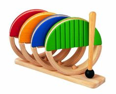 Eco-Friendly and Non-Toxic Musical Toys for Baby: Plan Toys Percussion Set Baby Toys, Kids Toys, Children's Toys, Toddler Toys, Wooden Display Stand, Plan Toys, Baby Planning, Bent Wood, Musical Toys