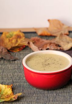 For the Love of Food: Acorn Squash Apple Soup
