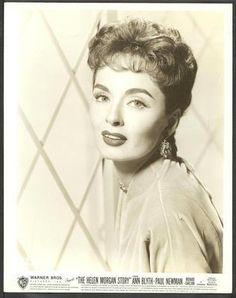 Ann Blyth Original 1957 Warner Bros Portrait Photo The Helen Morgan Story