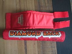 NOS RED DIAMONDBACK CALIFORNIA LITE STEM & BAR PAD OLD SCHOOL BMX VINTAGE BIKE