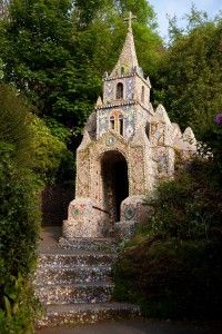 The Little Chapel - from Visit Guernsey.The smallest chapel in the world 20x10ft