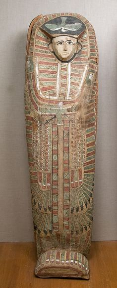 Rishi coffin. Asasif tomb CC 41 (R9 A1). MMA 30.3.4a, b.