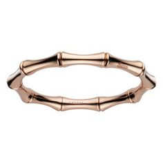 Gucci Bamboo 18-Karat Rose Gold Small Spring Bracelet