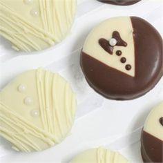 Google Image Result for http://site.advantagebridal.com/googleimages/chocolate-covered-bride-and-groom-oreos.jpg