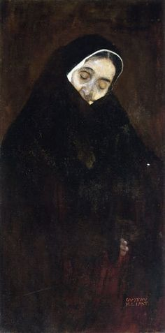 Gustav Klimt. Old Woman