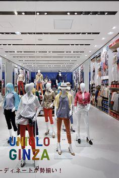 UNIQLO  flagship store Ginza Tokyo by Wonderwall inc