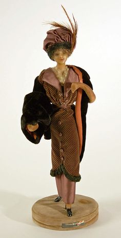 Lafitte Desirat Wax Figure - 1910