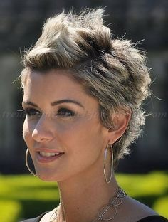 Trendy Hairstyles for 2014 | hairstyles for short hair - faux hawk for women|trendy-hairstyles ...
