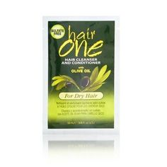 Hair One Cleanser and Conditioner with Olive Oil for Dry Hair 608 oz PackettesPack of 6 * Details can be found by clicking on the image. (This is an affiliate link) Cleansing Conditioner, Shampoo And Conditioner, Hair Cleanser, One Hair, Hair Shampoo, Damaged Hair, Beauty Hacks, Beauty Tips, Olive Oil
