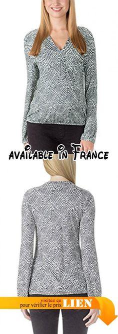 B00XA1GXKW : bellybutton - T-shirt à manches longues - maternité Femme - Multicolore - 42.
