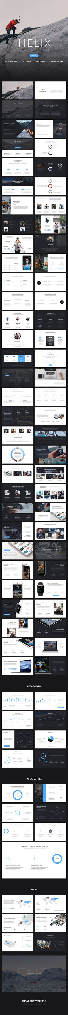 Helix Premium Powerpoint Presentation https://graphicriver.net/item/helix-powerpoint-presentation/15473833?ref=fisihsani
