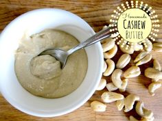 How to Make Homemade Cashew Butter - Holistic Squid