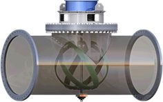 A startup Lucid Energy em Portland, Oregon (EUA), desenvolveu um sistema captura energia gerada a partir da água corrente, que faz girar pequenas turbinas colocadas dentro das tubulações e posteriormente é armazenada em um gerador. O LucidPipe, é como uma pequena hidrelétrica, funcionando como gerador de energia elétrica dentro das tubulações, oleodutos, entre outros - nas cidades, as áreas rurais ou nas indústrias - de forma limpa e renovável - sem afetar as operações.
