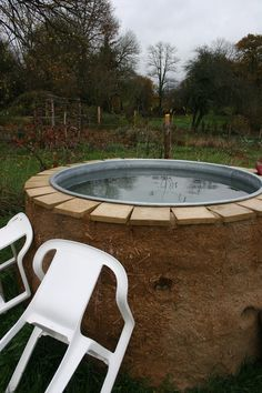 The hot tub., La Forge, France