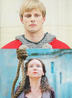 He gave her a chance and she didn't take it. I wonder if Mordred knew, and if it would have made a difference.