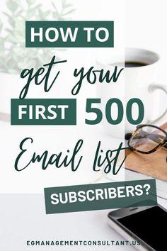 Tips for building an email list - EGM Business Entrepreneur, Business Tips, Online Business, Sales Strategy, Email Marketing Strategy, Sales Tips, Email List, Work From Home Moms, Make Money Blogging