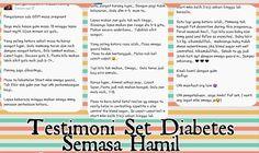 Testimoni Pengguna Set Diabetes Semasa Hamil (GDM)