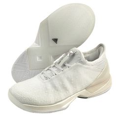 watch a60c9 d48e6 adidas Adizero Ubersonic 3 Ltd Womens Tennis Shoes White Gray Night Opera  CM7755 adidas Adidas