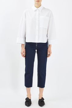 Wide Cotton Shirt by Boutique