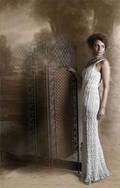 Tejidos - Knitted - Beautiful crocheted dress