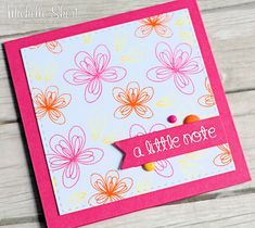 The Card Grotto: CB Teasers | Introducing Scribbled Flowers & Delightful Day