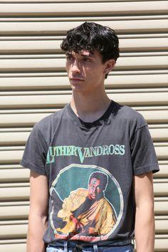 "christos: "" Jacob Bixenman – Outside at New York Fashion Week: Men's SS17 by Myoungsoo Lee """