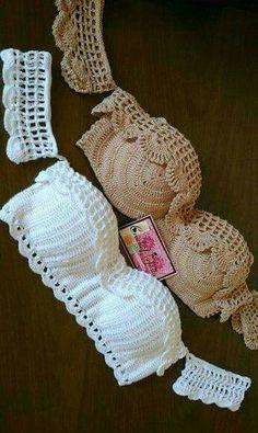 Corpiños a crochet
