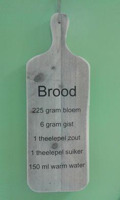 Broodplank: Brood