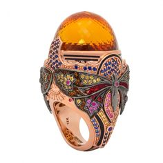 Atelier Swarovski by Matthew Campbell Laurenza ring, price upon request, exclusively at Bergdorf Goodman, New York.