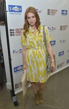 Holland Roden at the Kanon-sponsored launch of George Gina & Lucy's 'Originals Collection' in LA