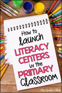 Tips and ideas for teachers who are setting up literacy centers in kindergarten, first, or second grade classrooms. Essential information to create student small groups, choose reading and writing center activities, and effectively organize materials and classroom space! #literacycenters #kindergarten #firstgrade #secondgrade #teachingreading #teachingwriting #classroommanagement