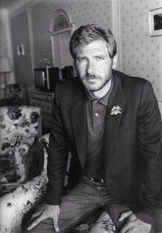 "Distractify | 50 Classy People From The Past Who Remind Us What ""Cool"" Really Means! A young Harrison Ford"