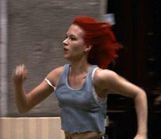 Franka Potente -Run Lola Run