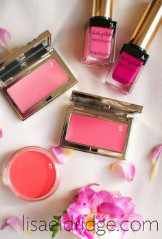 Tips from Lisa Eldridge about selecting blush shades and application tips.
